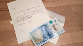 Someone Found A £5 Note Worth £50,000 And Donated It To Charity