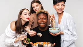 Russian Sushi Chain Apologises For Advert Featuring Black Man