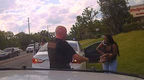 Policeman Saves Baby's Life After He Stopped Breathing In The Car