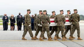 Fathers Of Soldiers Killed In Kabul Slam Joe Biden For Checking His Watch During Ceremony