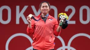 Weightlifter Earns Country's First Ever Olympic Gold Medal After Nearly 100 Years