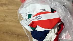 Olympic Team Criticised Online After Dumping Uniforms In Bin
