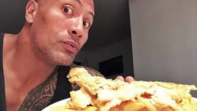 People Are Impressed And Intimidated By The Rock's Massive Cheat Meals