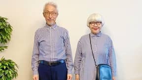 Couple Who Have Been Married For 41 Years Wear Matching Outfits