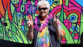 Former EastEnders Star Pat Butcher Smokes Weed for New ITV Show