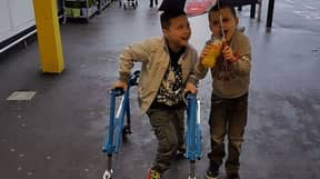 Heartless Thieves Steal Little Boy's Walking Frame And Wheelchair