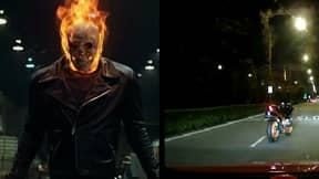 'Ghost Rider' Captured In Dash Cam Footage In Singapore