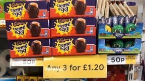 Shoppers Baffled As Easter Eggs Seen In Supermarkets Just Days After Christmas