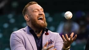 Conor McGregor Throws 'Worst First Pitch In History Of Baseball'
