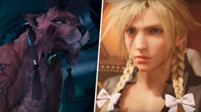 Cross-Dressing Cloud And Red XIII Show Up In New 'Final Fantasy 7 Remake' Trailer