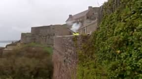 Man From Jersey Fires Musket At French Boats