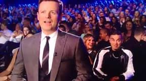 Robbie Williams Trolls Dec Donnelly On 'Britain's Got Talent'