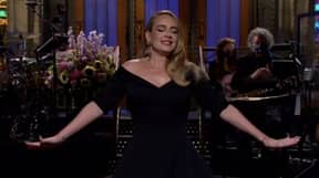 Adele Shows Off Weight Loss On SNL Joking There's 'Only Half' Of Her