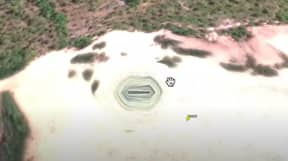 UFO Hunter Claims To Find 'Alien Base Entrance' On Google Earth
