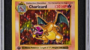 Rare Charizard Pokémon Card Already Has $160k Worth Of Bids At Auction