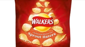 Walkers Are Also Bringing Out A 'Sprout Haters' Range Of Crisps