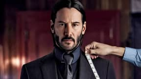 Impressive Behind The Scene Footage Shows Keanu Reeves Carrying Out Own Horse Stunt