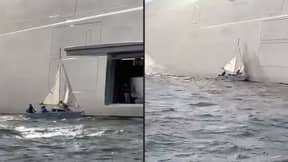 Family Sails Boat Into The Side Of Russian Billionaire's £384 Million Mega-Yacht