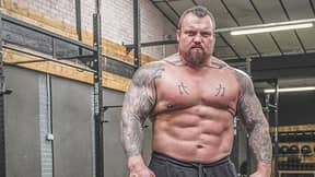 Eddie Hall Has Dropped Six Stone Ahead Of Fight Against The Mountain