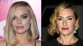 Margot Robbie Does Not Look Happy As Kate Winslet Praises Woody Allen
