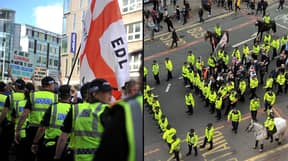 Not Many EDL Members Turned Up To Their Manchester Protest Yesterday