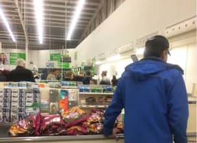 Domino's Worker 'Caught In The Act' After Customer Snaps Pic Of Them Buying Asda Wedges