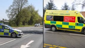 Ambulance Worker Dies After Object Smashes Through Windscreen On 999 Callout