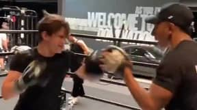 Tom Holland Impresses Fans With Boxing Skills In Workout Video