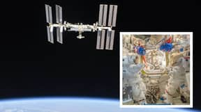Google Streetview Reveals Creepy Space Suits Inside International Space Station