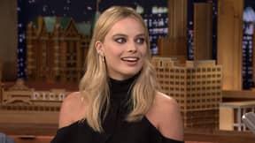 Margot Robbie Talks About Tattooing Cara Delevingne