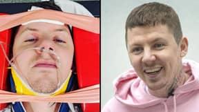 Professor Green Hospitalised After Fracturing Neck During Seizure