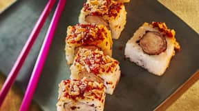 Sainsbury's Is Selling Pigs In Blanket Sushi This Christmas