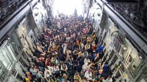 RAF Completes Biggest Capacity Flight In Its History Evacuating People From Afghanistan