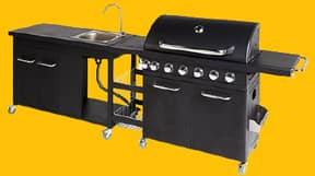 Aldi Selling Incredible Outdoor Kitchen Next Weekend