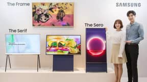 Samsung Unveils Vertical Television Aimed At Smartphone Addicts