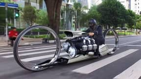 Incredible Motorbike Is Powered By An Aircraft Engine