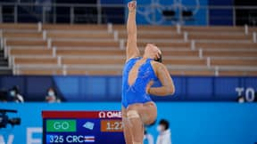 Olympic Gymnast Performs Black Lives Matter Tribute During Her Routine