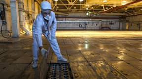 Fascinating Photos Give Rare Look Inside Chernobyl's Nuclear Sarcophagus