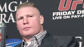 Brock Lesnar's New Ponytail And Goatee Has People Divided