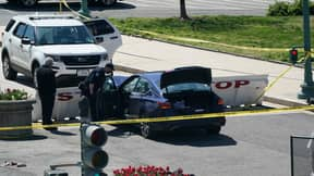 Police Officer Dies After Car Rams Barricade At US Capitol