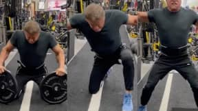 Sylvester Stallone Accused Of Using Fake Weights During Workout
