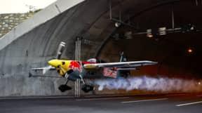 Stunt Pilot Blasts Through Motorway Tunnel At 150Mph To Set New World Record