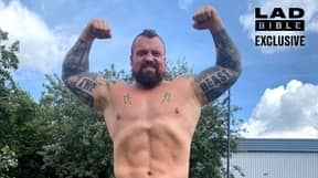 Eddie Hall Reveals The Worst Injury He Has Ever Suffered