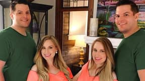 Identical Twin Sisters Who Married Identical Twin Brothers Have First Baby