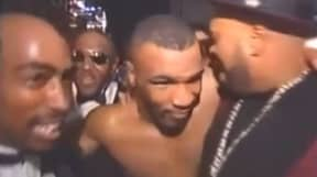 Rare Footage Resurfaces Of Mike Tyson Celebrating With Tupac Shakur The Night He Was Killed
