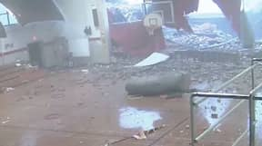 Footage Shows Students Running For Their Lives As Storm Rips Through School