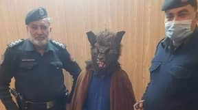 Man In Wolf Mask Arrested For Scaring People On New Year's Eve