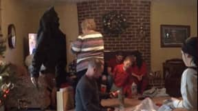 Woman Posts Video Showing 'Ghost' Watching Dad Open Christmas Presents