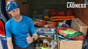 Ultramarathon Runner Sets Record For Iconic 268-Mile Trail And Picks Litter On His Way