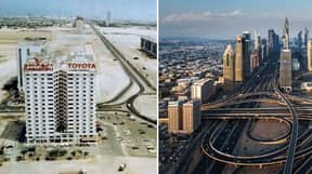 Pictures Taken 40 Years Apart Show How Dubai Has Changed